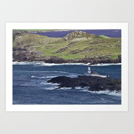 Valentia Lighthouse Art Print