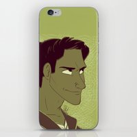 michael scott iPhone & iPod Skins featuring Scott by The Art of Nicole