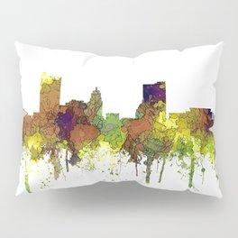 Fort Wayne, Indiana Skyline SG - Safari Buff Pillow Sham