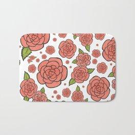 Rosey Posey Roses Bath Mat