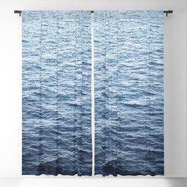 Calm Deep Ocean Blackout Curtain