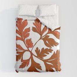 Vintage Fall Leaves Comforters