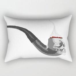 Skull Pipe Rectangular Pillow