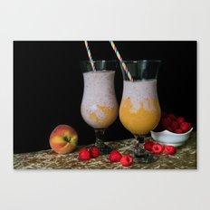 Fresh Smoothies Canvas Print