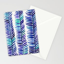Indigo Seaweed Stationery Cards