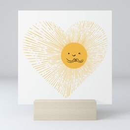 You are the Sunshine of my heart Mini Art Print