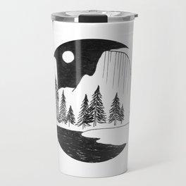 Half Dome Yosemite Travel Mug