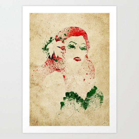 Toxicolove Art Print