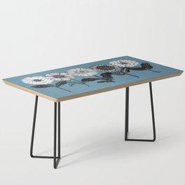 Peony Flower Coffee Table