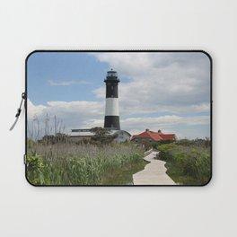 Fire Island Light With Reflection - Long Island Laptop Sleeve