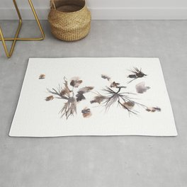 The Magician - 151124  Abstract Watercolour Rug