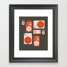 Music Lover Framed Art Print