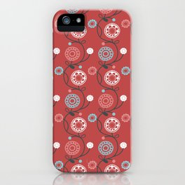 Daisy Doodles 5 iPhone Case