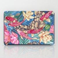 koi iPad Cases featuring Koi Pond by Vikki Salmela