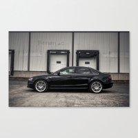 audi Canvas Prints featuring 2013 Audi A4 S-Line by Nicolas Goulet