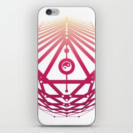 Radiant Abundance (white-sunrise) iPhone Skin