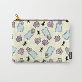 Eat Me, Drink Me - Yellow Carry-All Pouch