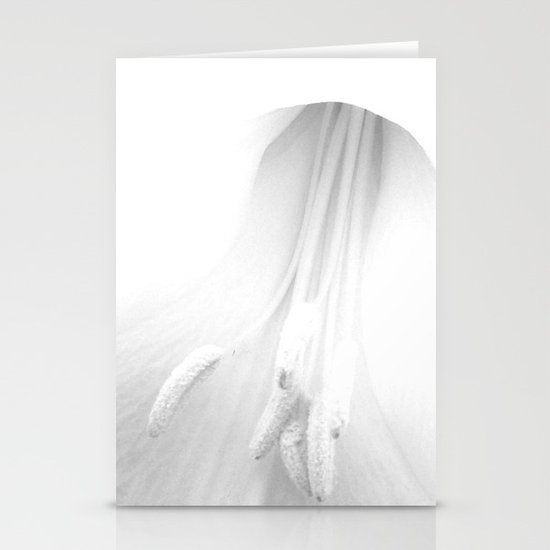 untitled white Stationery Cards