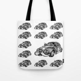 fluffy VW Tote Bag