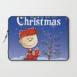 charlie brown peanuts christmas night 2019 2020 napitupulu Laptop Sleeve