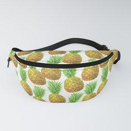 Pineapple watercolor pattern Fanny Pack