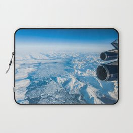 Glaciers of Greenland from 37,000ft Laptop Sleeve