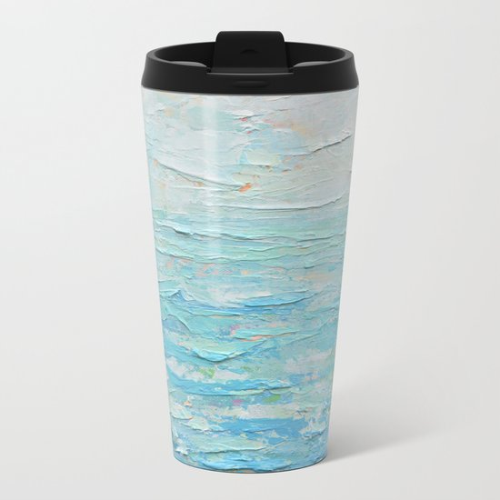 Sacred Silence Metal Travel Mug