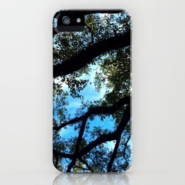 Under the Oaks iPhone Case