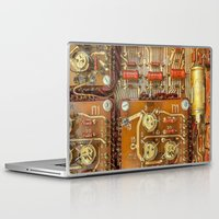 transistor Laptop & iPad Skins featuring Electronic circuit board by beerlogoff