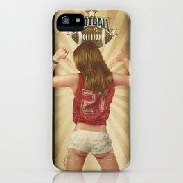 VINTAGE GIRLS - Footnall iPhone Case