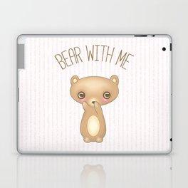 Bear With Me - Creepy Cute Teddy Laptop & iPad Skin