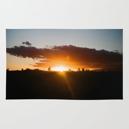 Sunset in the Eastern Cape Rug