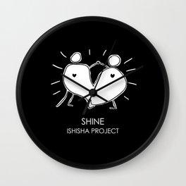 SHINE by ISHISHA PROJECT Wall Clock