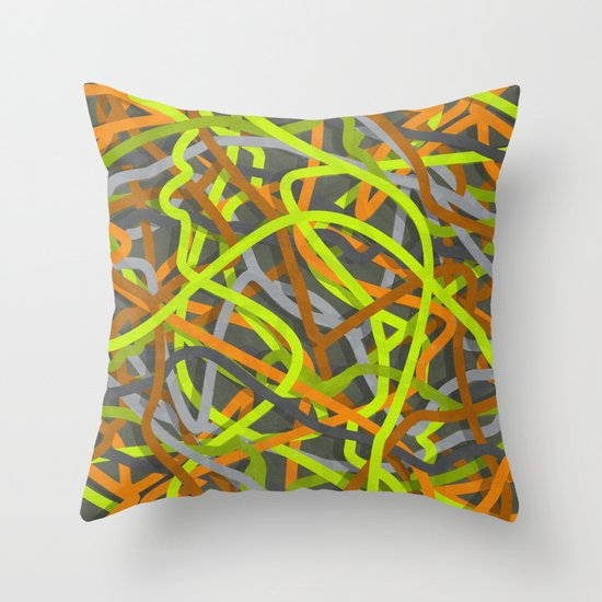 Helga Knox Throw Pillow