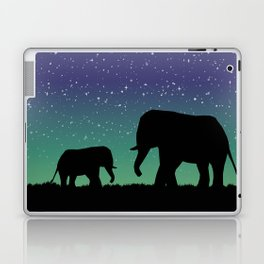 Elephant Silhouettes  Laptop & iPad Skin