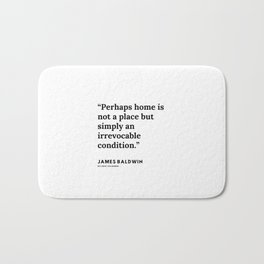 1     |James Baldwin Quotes |  200626 | Black Writers | Motivation Quotes For Life Bath Mat