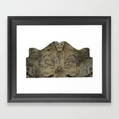 HeadBored Framed Art Print