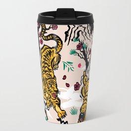 Tiger and Pug Japanese style Travel Mug