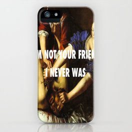 Judith Stopping Holofernes iPhone Case