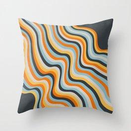 Dancing Lines Throw Pillow