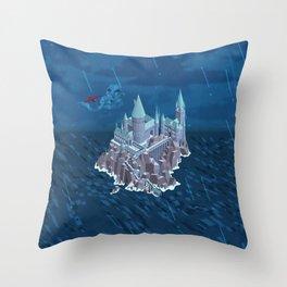 Hogwarts series (year 6: the Half-Blood Prince) Throw Pillow