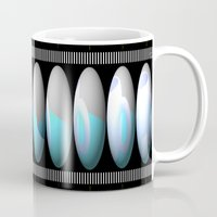cup Mugs featuring CUP by john jewell