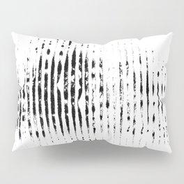striped imprint Pillow Sham