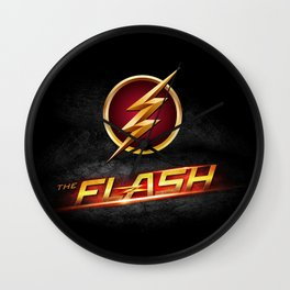 The Flash Inside Wall Clock
