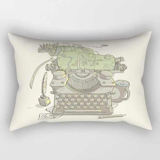 A Certain Type of City Rectangular Pillow