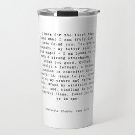 Jane Eyre Quote Travel Mug