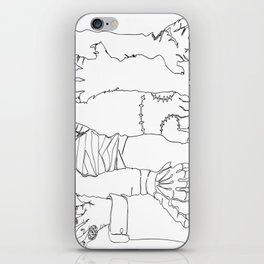 Classic Horror Hands iPhone Skin