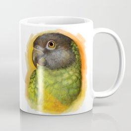 Senegal parrot realistic painting Coffee Mug