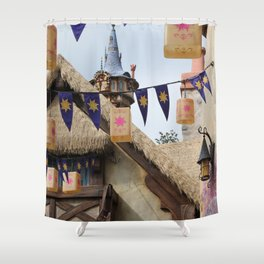 Tangled Tower Shower Curtain