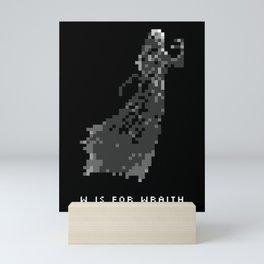 W is for Wraith Mini Art Print